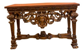 Image of Renaissance Revival Console Tables