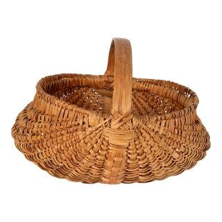 Antique American Indigenous Basket For Sale