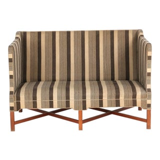 Kaare Klint 4118 Box Sofa, Rud Rasmussen, Denmark (Complimentary Re-Upholstery) For Sale