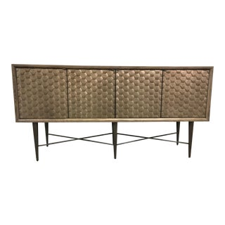 AD Modern Soho Honeycomb Credenza For Sale
