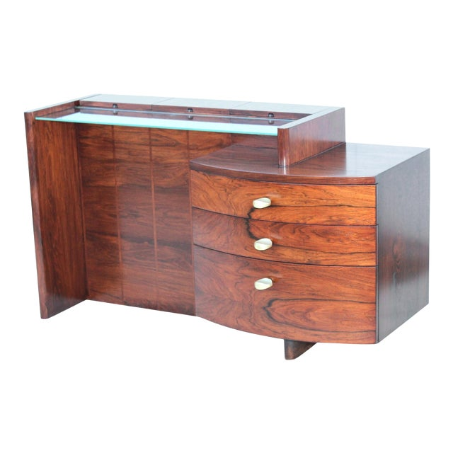 Gilbert Rohde for Herman Miller Rosewood Vanity For Sale
