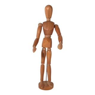 20th Century Figurative Artist Model of Articulating Man For Sale