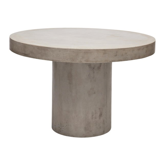 "Dark Grey Circa 47"" Dining Table For Sale"