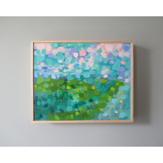 Abstract A Breath of Fresh Air by Anne Carrozza Remick For Sale - Image 3 of 6
