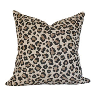 "Snow Leopard Pillow Cover 20""sq"