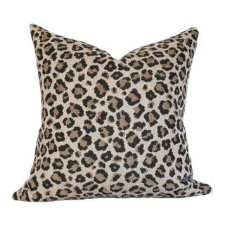 "Snow Leopard Pillow Cover 20""sq"