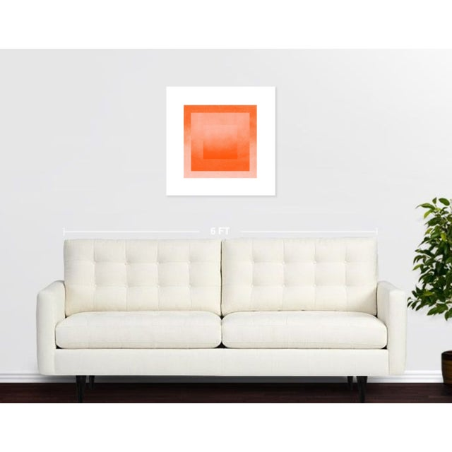 Jessica Poundstone Peach & Tigerlily: Color Space Series Print - Image 2 of 3