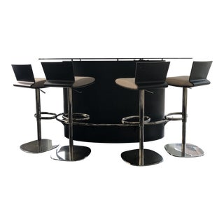 Roche Bobois Ublo Bar & Stools For Sale