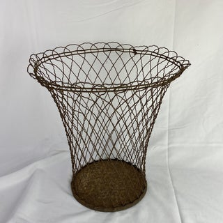 French Wire Wastepaper Basket Preview