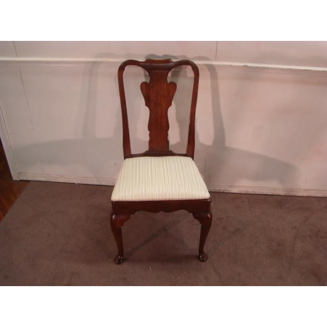 1970s Vintage Statton Old Towne Solid Cherry Dining Chairs