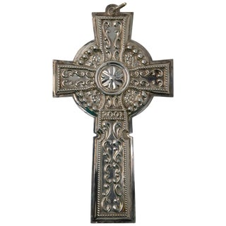 2001 Towle Sterling Cross Ornament For Sale