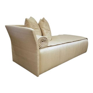 John Saladino Spiral Chaise Lounge For Sale