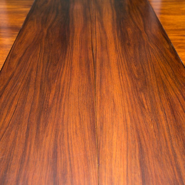 1963 Vintage Rosewood Dining Table - Image 5 of 6
