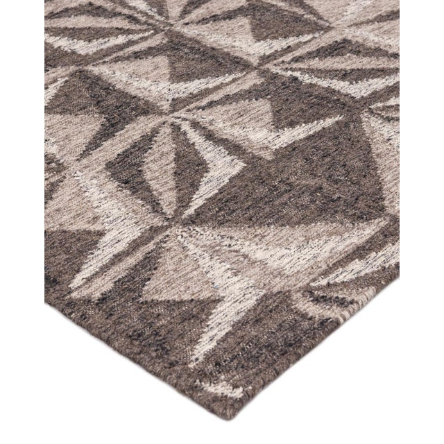 Color: Charcoal - Made in: India. 100% Wool. Notable for their unique construction, our flatweave rugs are extremely...