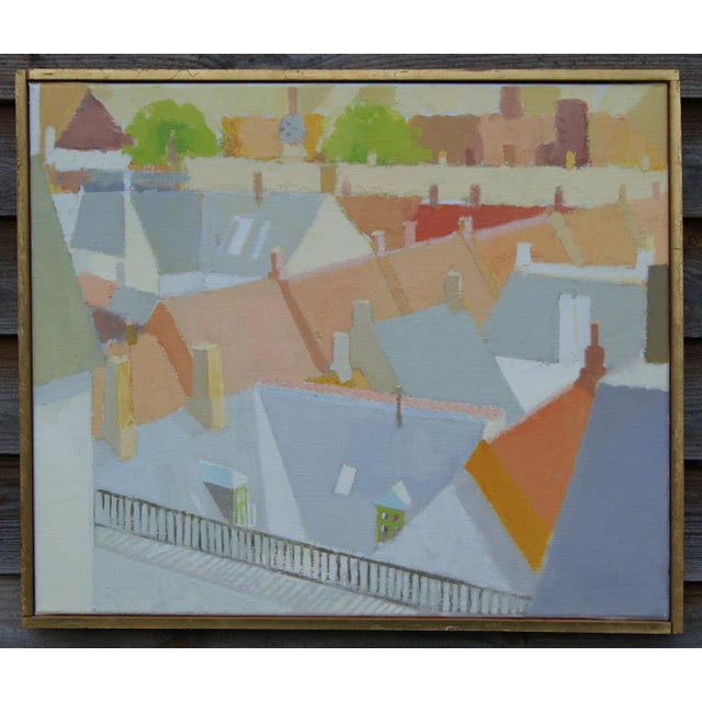 """Dated and signed by the artist on the backside. Artist: Sven Enselmann (b. 1926) Creation year: 1983 Dimensions: 24.5""""W x..."""