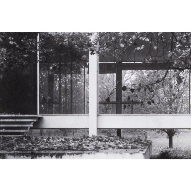 """""""Farnsworth House Early Decline #2"""" Photograph by Jim Zanzi For Sale - Image 4 of 6"""