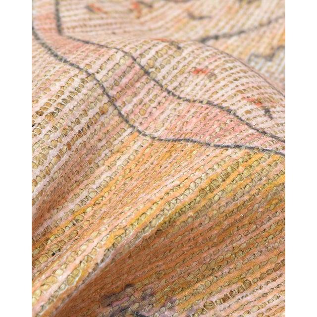Textile Naina, Bohemian Moroccan Hand Loom Area Rug, Blush, 9 X 12 For Sale - Image 7 of 9
