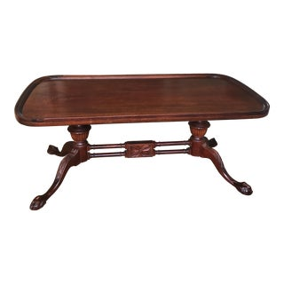 Vintage Mersman Mahogany Chippendale Coffee Table