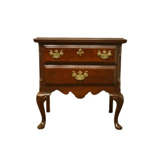 Sumter Cabinet Solid Cherry Chippendale Traditional Style Nightstand For Sale