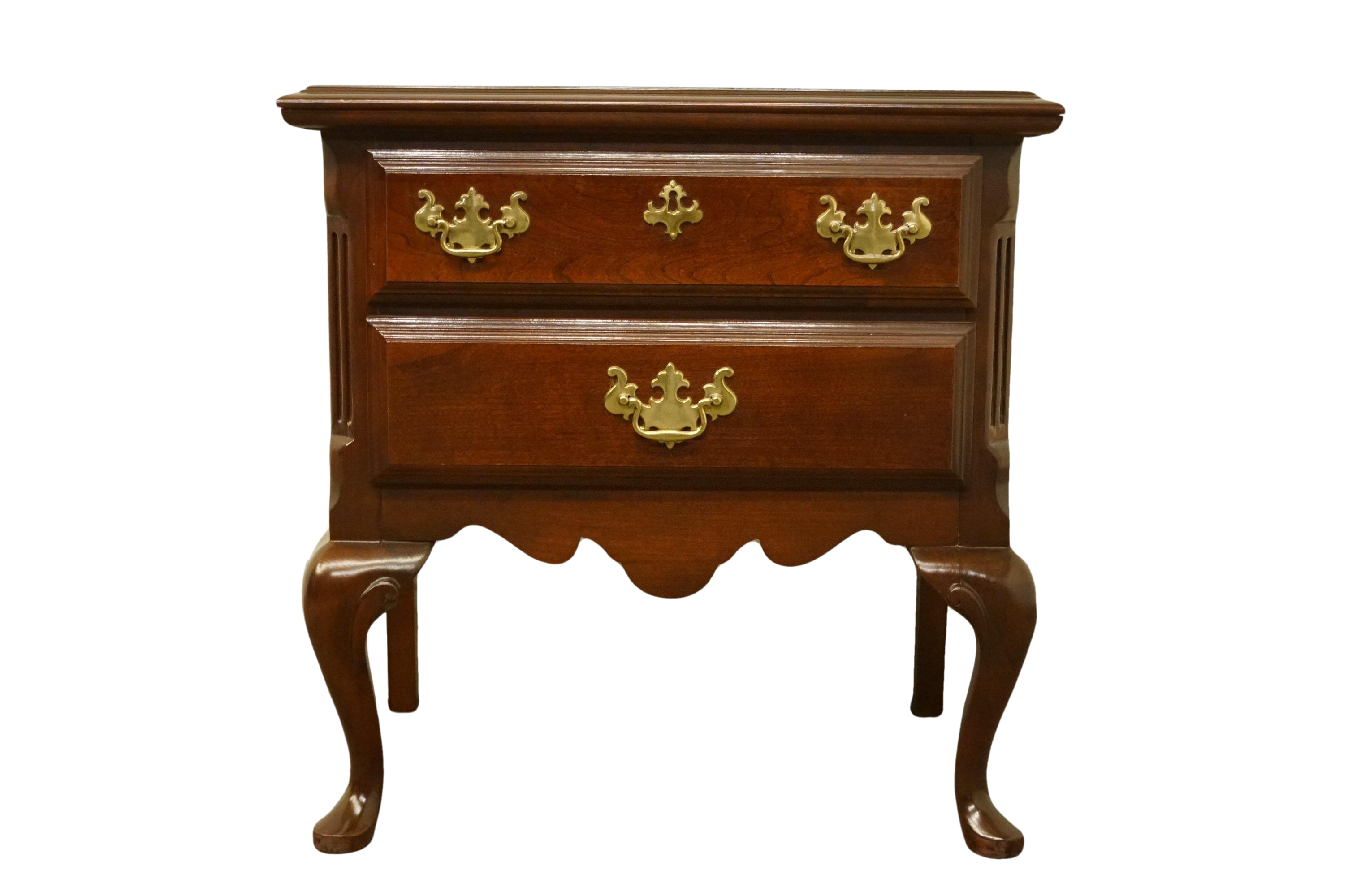 Sumter Cabinet Solid Cherry Chippendale Traditional Style Nightstand