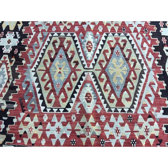 Islamic Vintage Anatolian Rug - 5′1″ × 9′3″ For Sale - Image 3 of 6