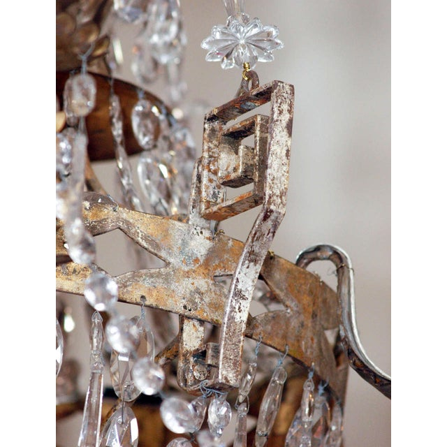 Mid 19th Century AN EARLY 19C TUSCAN CHANDELIER For Sale - Image 5 of 6