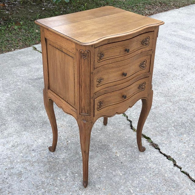 French Antique Country French Chestnut Commode For Sale - Image 3 of 10