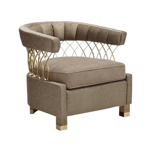 Fabulous Caracole Modern Loop De Loo Lounge Chair Customarchery Wood Chair Design Ideas Customarcherynet