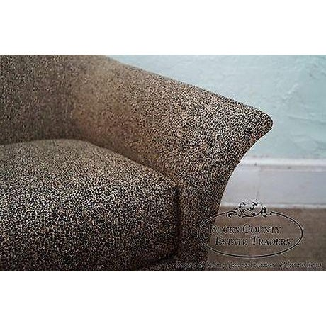 Thomasville Casa Bique Leopard Print Club Lounge Chair For Sale - Image 9 of 13