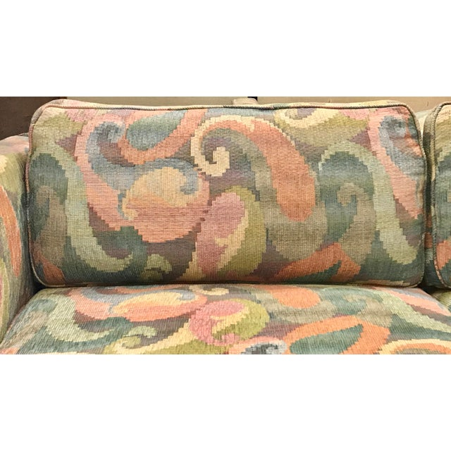 1970s Vintage Milo Baughman Style Sofa For Sale - Image 6 of 8