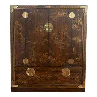 "Drexel ""Et Cetera"" Chinoisorie Armoire For Sale"