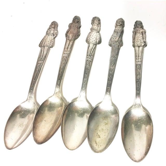 Vintage Dionne Quintuplet Spoons - Set of 5 - Image 3 of 3