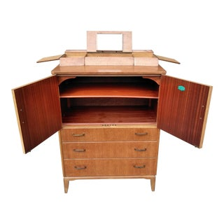 Mid Century Modern Lebus Link Chest For Sale