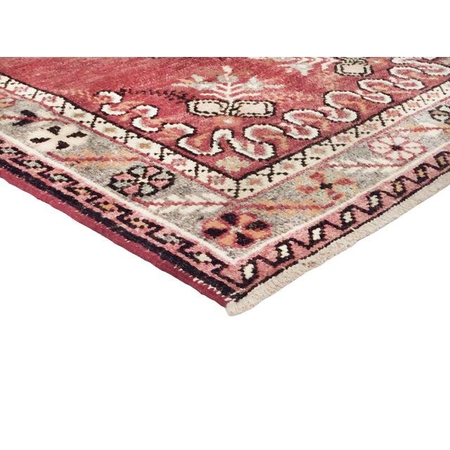 "Vintage Turkish Anatolian Wool Runner- 2'9"" x 5'6"" - Image 3 of 3"
