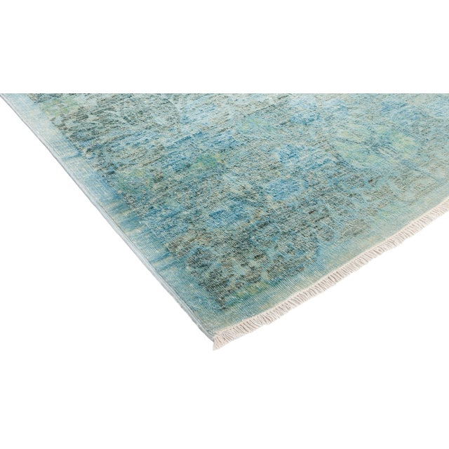 """Vibrance Hand Knotted Area Rug - 6' 1"""" X 9' 0"""" - Image 2 of 4"""