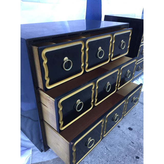 Wood Authentic Dorothy Draper Heritage Henredon España Chest For Sale - Image 7 of 11