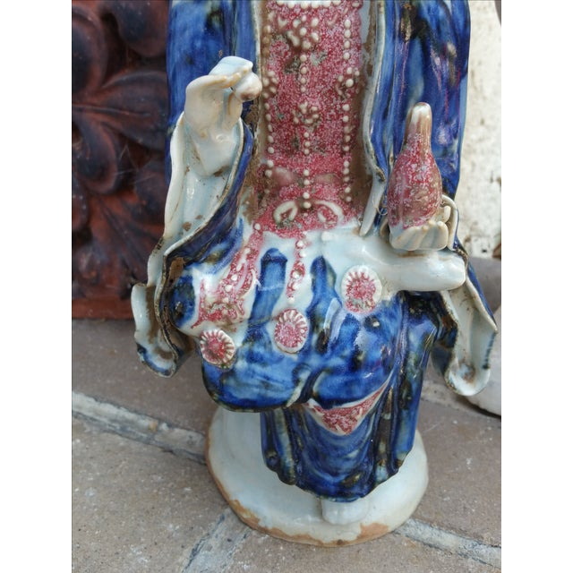 Chinese Porcelain Quan Yin Statue - Image 4 of 6