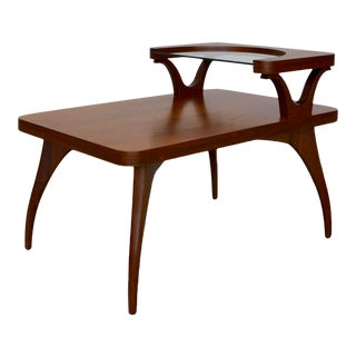 Mid-Century Danish Modern End Table For Sale