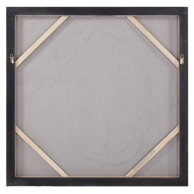 2020s Kenneth Ludwig Chicago Ballare Black & Gold Painting For Sale - Image 5 of 6