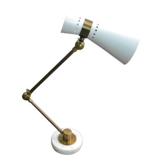 Bungalow 5 Clipper White Desk Lamp For Sale