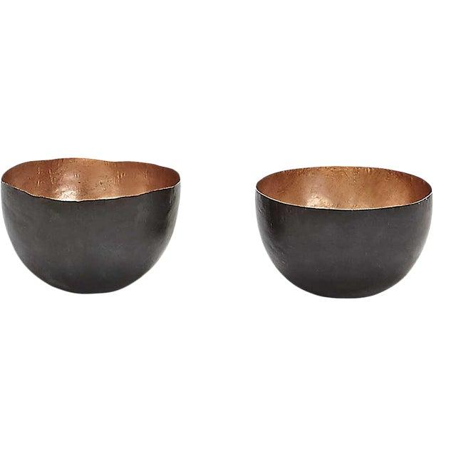 Tom Dixon Form Copper Bowls - A Pair For Sale