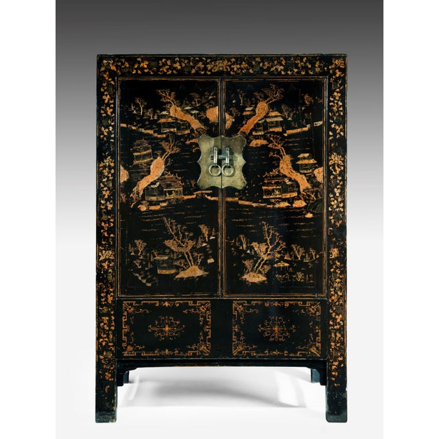 19th Century Chinoisere Cabinet For Sale - Image 4 of 6