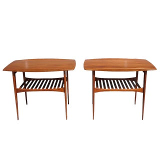 20th Century Danish Side Tables by Tove and Edvard Kindt-Larsen For Sale