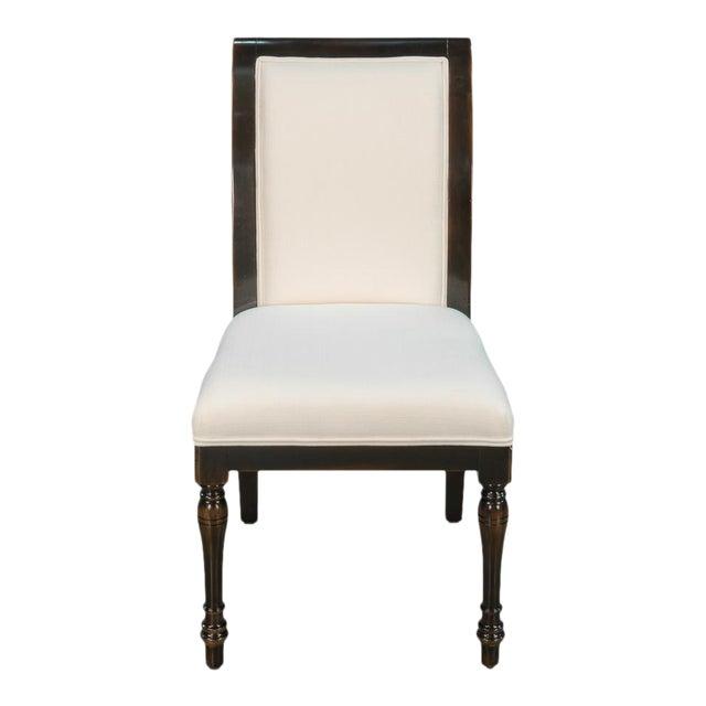 Sarreid Ltd Ebony Finished Dining Chairs- Set of 4 - Image 1 of 5