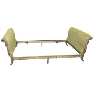 Vintage French Directoire-Style Painted Daybed For Sale
