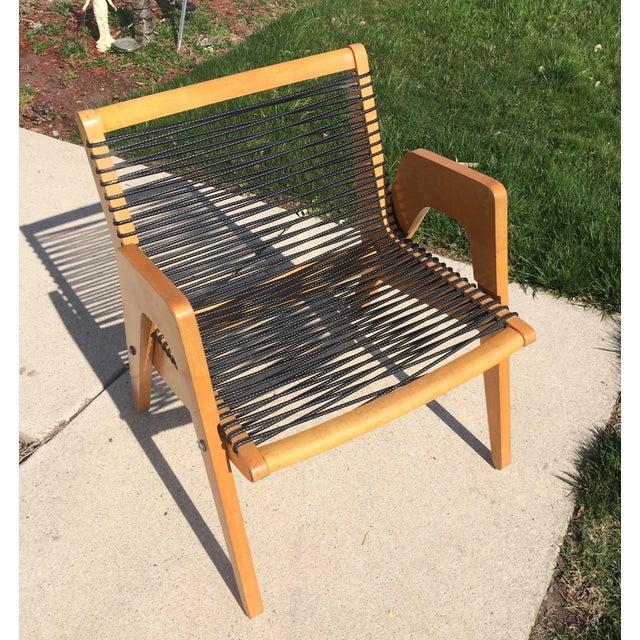 Vintage Robert Kayton Cord Chair For Sale - Image 5 of 9