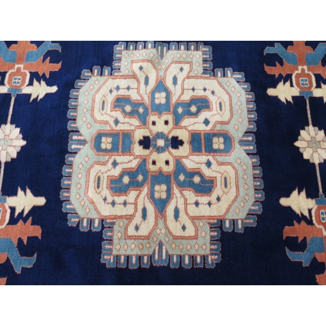 Persian Heriz Pattern Rug - 27' x 17' For Sale - Image 9 of 11
