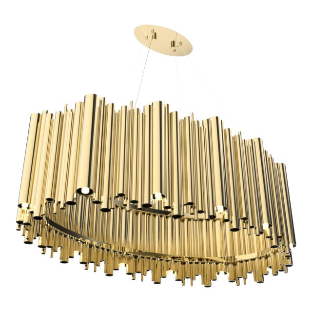 Brubeck Oval Chandelier From Covet Paris For Sale