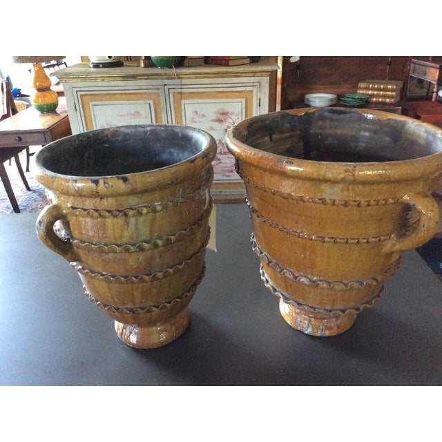 Hand-Thrown Decorative Pots - A Pair - Image 2 of 3