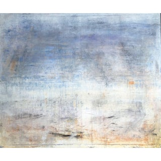 """""""1081 Abstract Antique Lavender"""" Landscape Painting For Sale"""